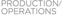 Production / Operations